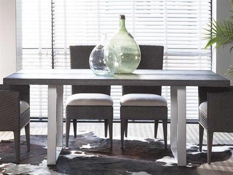 Artistica Home Cadence Sandblasted Mahogany 76''L x 40''W Rectangular Dining Table ATS2090876