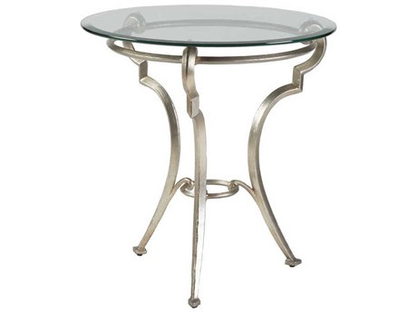 Artistica Home Colette Champagne Foil 26'' Wide Round Table Shape ATS2022950C