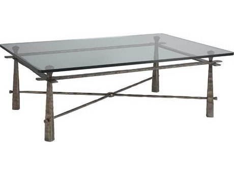 Artistica Cortona Iron / Bronze 54'' Wide Rectangular Coffee Table