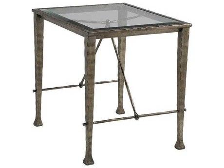 Artistica Cortona Iron / Bronze 22'' Wide Rectangular End Table
