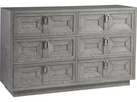 Artistica Doctrine Gray 6 Drawers Double Dresser ATS2093222