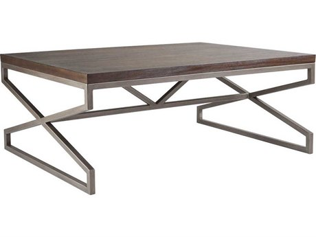 Artistica Home Edict Marrone 48''L x 36''W Rectangular Cocktail Table ATS208894542