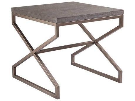 Artistica Home Edict Grigio 26'' Wide Square End Table ATS208895741