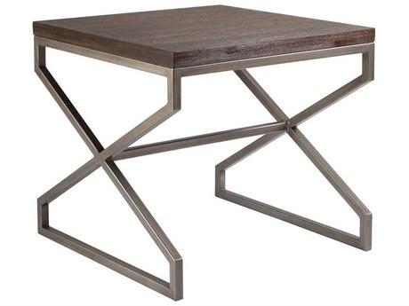 Artistica Home Edict Marrone 26'' Wide Square End Table ATS208895742