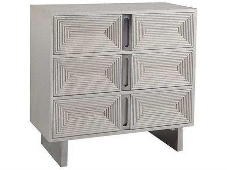 Artistica Gradient White / Brushed 3 Drawers or less Dresser ATS2119973