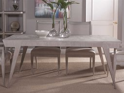 Home Haiku Bianco 72'' - 96''L x 40''W Rectangular Extension Dining Table