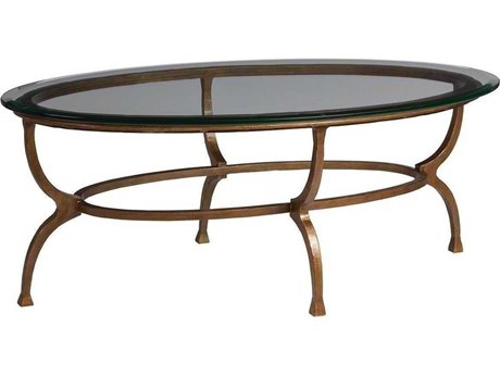 Artistica Patios Renaissance 48'' Wide Oval Coffee Table ATS201494945