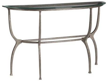 Artistica Patios Argento 54'' Wide Demilune Console Table ATS201496646