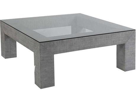 Artistica Home Precept Light Gray 44'' Wide Square Cocktail Table