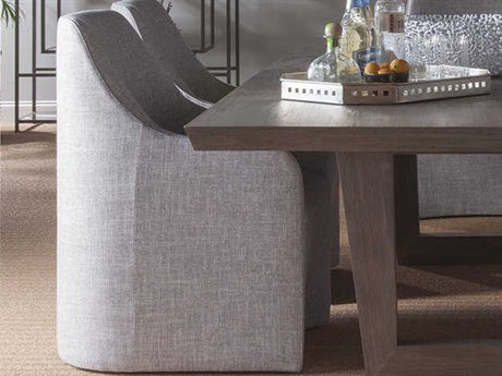 Artistica Home Riley Natural Gray Dining Arm Chair ATS208688101