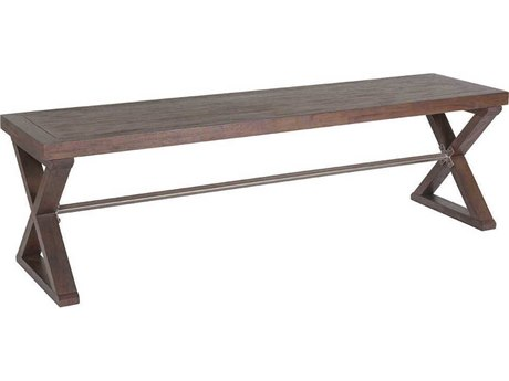 Artistica Home Ringo Marrone Accent Bench