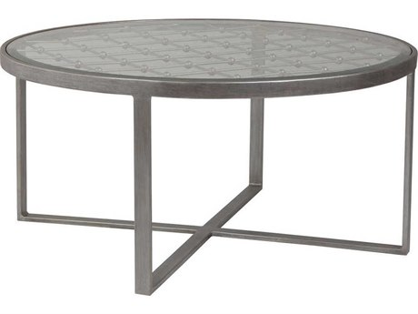 Artistica Home Royere 40'' Wide Round Cocktail Table