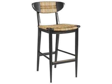 Artistica Viggo Woven / Painted Black Side Bar Height Stool ATS210289601