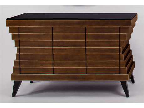 Artmax 59 x 36.5 Brown Console Cabinet AMX1968S