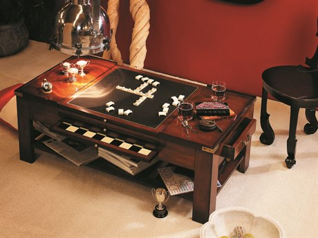 Authentic Models Furniture 47 x 25 Rectangular Cherry Game Table A2MF034