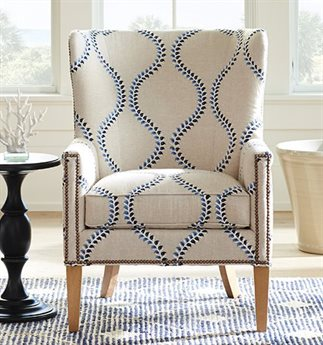 Barclay Butera Avery 8052-31 Accent Chair (Married Cover)