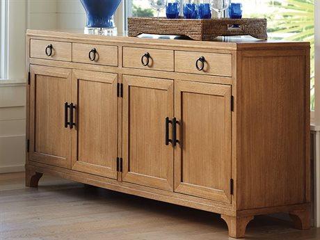 Barclay Butera Newport Bayside Sandstone Four-Drawer / Four-Door 78'' x 20'' Buffet BCB920852