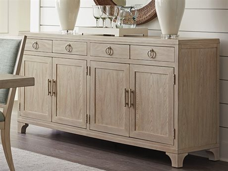 Barclay Butera Newport Bayside Sailcloth Four-Drawer / Four-Door 78'' x 20'' Buffet BCB921852