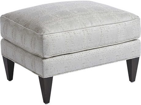 Barclay Butera Belmont 4253-11 Semi-Attached Top Ottoman (As Shown)