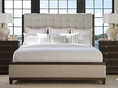 Barclay Butera Brentwood Bristol Tufted Wilshire Queen Platform Bed (Custom Upholstery) BCB915133CUPH