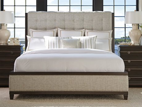 Barclay Butera Brentwood Bristol Tufted Wilshire California King Platform Bed (Custom Upholstery)