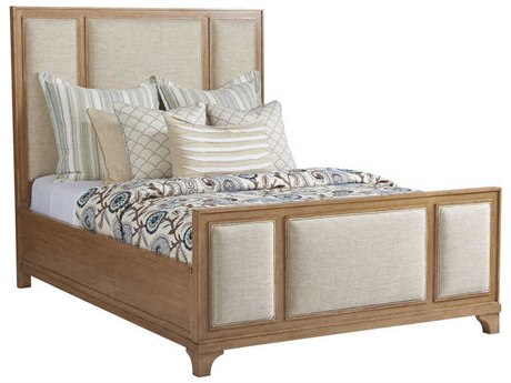 Barclay Butera Newport Crystal Cove Sandstone 4233-11 Queen Panel Bed (As Shown) BCB920133C