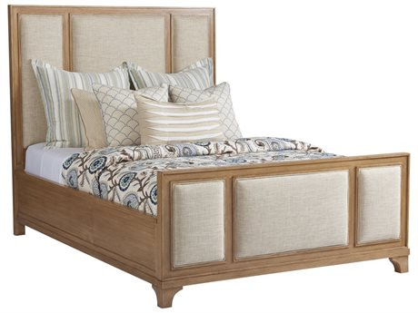 Barclay Butera Newport Crystal Cove Sandstone Queen Panel Bed (Custom) BCB920133CUPH