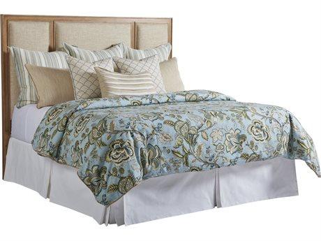 Barclay Butera Newport Crystal Cove Sandstone Platform King Bed (Custom Upholstery) BCB920134HBUPH