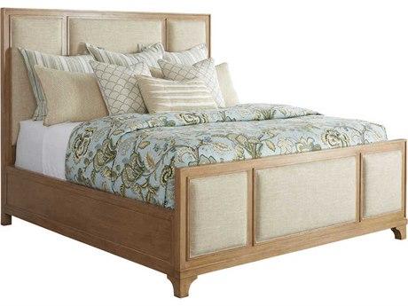 Barclay Butera Newport Crystal Cove Sandstone 4233-11 California King Panel Bed (As Shown) BCB920135C
