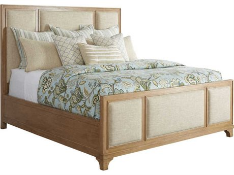 Barclay Butera Newport Sandstone Crystal Cove California King Panel Bed (Custom Upholstery) BCB920135CUPH