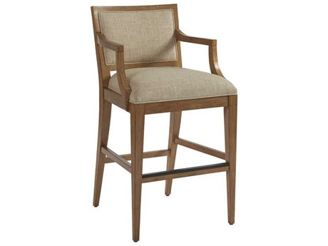 Barclay Butera Newport Eastbluff Sandstone Eastbluff Bar Stool (Quick Ship)