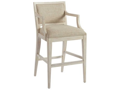 Barclay Butera Newport Eastbluff Sailcloth Bar Stool (Quick Ship) BCB92189601