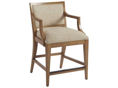 Barclay Butera Newport Eastbluff Sandstone Eastbluff Counter Stool (Quick Ship)