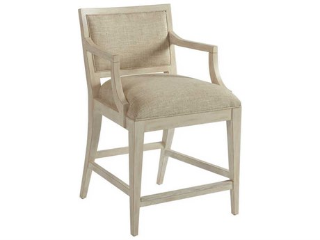 Barclay Butera Newport Eastbluff Sailcloth Counter Stool (Custom Upholstery)