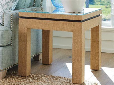 Barclay Butera Newport Harbor Sandstone 25'' Square Lamp End Table BCB920957