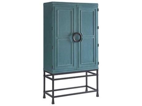 Barclay Butera Newport Jade Sea Glass Bar Cabinet BCB923976C