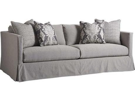 Barclay Butera Marina Slipcover 4107-71 Skirted Sofa (As Shown) BCB514033GY