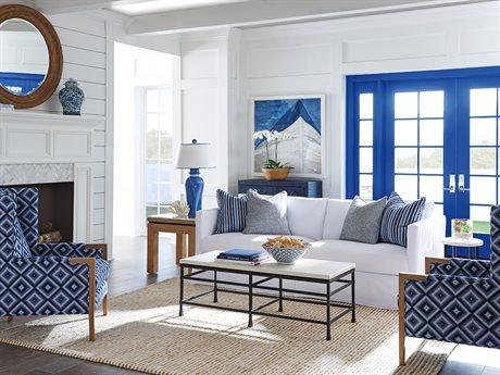 Barclay Butera Marina Slipcover Living Room Set BCB514033WHSET