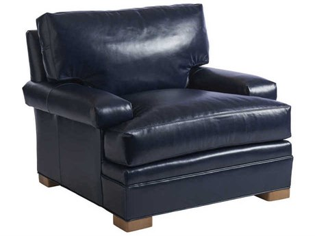 Barclay Butera Maxwell 9626-31 Leather Accent Chair