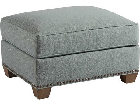Barclay Butera Morgan Semi-Attached Top Ottoman (Custom Upholstery)