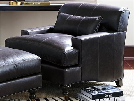 Barclay Butera Oxford 9563-71 Leather Accent Chair