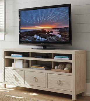 Barclay Butera Newport Promontory Sailcloth 68'' x 18'' Rectangular Media Console