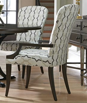 Barclay Butera Brentwood Schuler Dining Arm Chair (Custom Upholstery) BCB915883