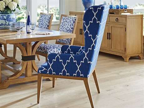 Barclay Butera Newport Seacliff Host Wing Dining Arm Chair (Custom Upholstery) BCB920883