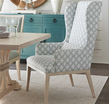 Barclay Butera Newport Seacliff Host Wing Dining Arm Chair (Custom Upholstery) BCB921883