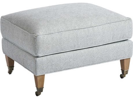 Barclay Butera Sydney 5178-21 Semi-Attached Top Ottoman (As Shown)