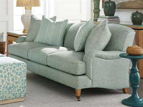 Barclay Butera Sydney Green Sofa (As Shown)