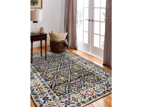Bashian Rugs Charleston Grey Rectangular Area Rug