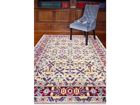 Bashian Rugs Charleston Ivory Rectangular Area Rug