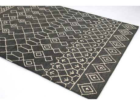 Bashian Rugs Chelsea Rectangular Charcoal Area Rug BSHS185CHARST258